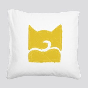 Windclan YELLOW Square Canvas Pillow