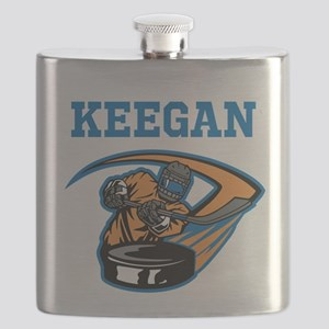 Personalized Hockey Flask