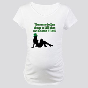 Blarney Stone Maternity T-Shirt
