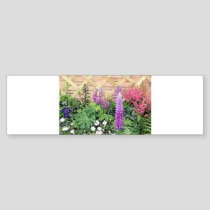 Flower box display Bumper Sticker