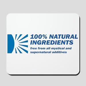 100% Natural Mousepad