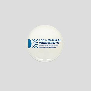 100% Natural Mini Button