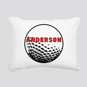 Personalized Golf Rectangular Canvas Pillow