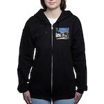 www.campfireshenanigans.com Women's Zip Hoodie