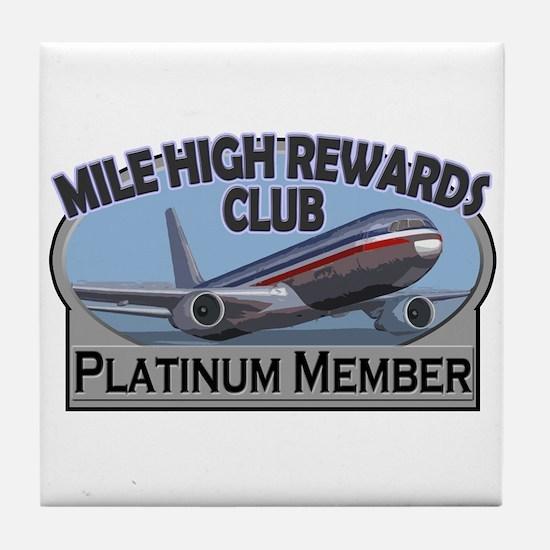 Mile High Rewards Tile Coaster