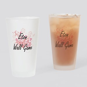 Eton Wall Game Artistic Design with Drinking Glass