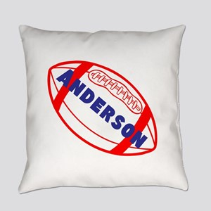 Personalized Football Everyday Pillow