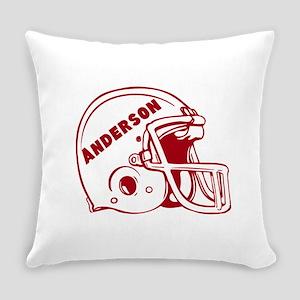 Personalized Football Helmet Everyday Pillow