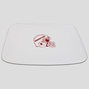 Personalized Football Helmet Bathmat
