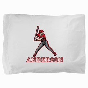 Personalized Baseball Pillow Sham