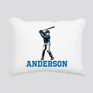 Personalized Baseball Rectangular Canvas Pillow
