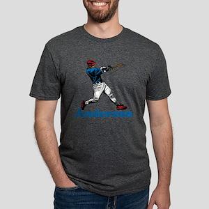 Personalized Baseball Mens Tri-blend T-Shirt