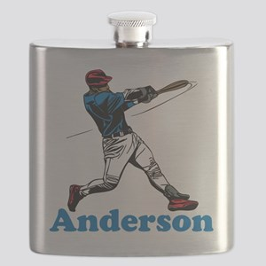 Personalized Baseball Flask