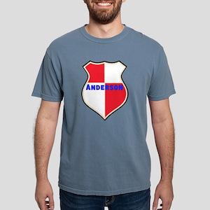 Personalized Sheild Mens Comfort Colors Shirt