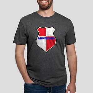 Personalized Sheild Mens Tri-blend T-Shirt