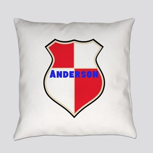 Personalized Sheild Everyday Pillow