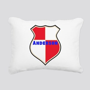 Personalized Sheild Rectangular Canvas Pillow