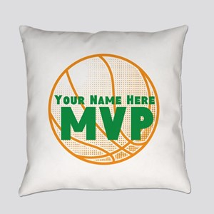 Personalized MVP Basketball Everyday Pillow