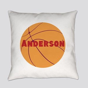 Personalized Basketball Everyday Pillow