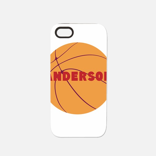 Personalized Basketball iPhone 5/5S Tough Case