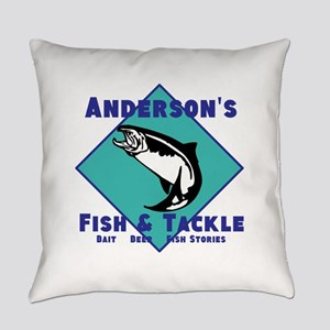 Personalized Fishing Everyday Pillow