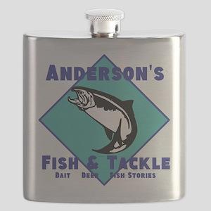 Personalized Fishing Flask