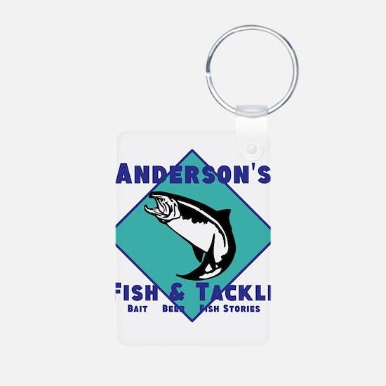 Personalized Fishing Keychains