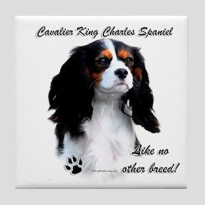 CKCS Breed Tile Coaster