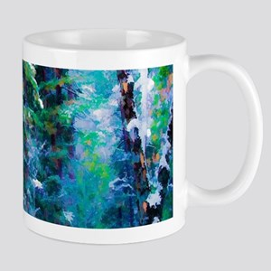 Snowy Forest Mugs