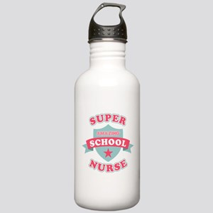 Super School Nurse Stainless Water Bottle 1.0L