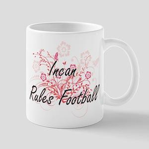 Incan Rules Football Artistic Design with Flo Mugs