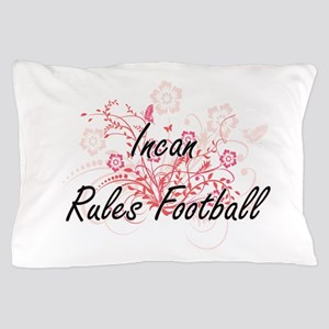 Incan Rules Football Artistic Design w Pillow Case