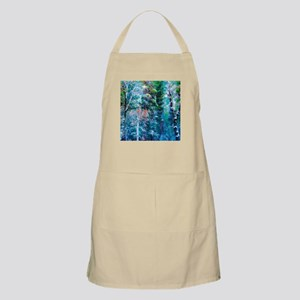 Snowy Forest Apron