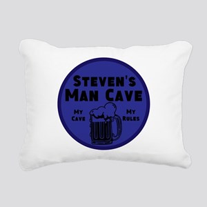 Personalized Man Cave Rectangular Canvas Pillow