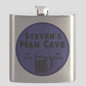 Personalized Man Cave Flask