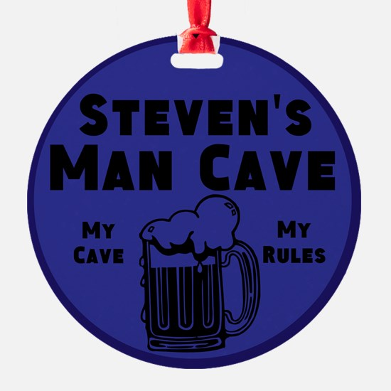 Personalized Man Cave Ornament