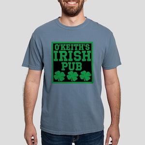 Personalized Irish Pub Mens Comfort Colors Shirt