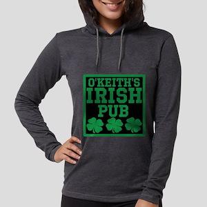Personalized Irish Pub Womens Hooded Shirt