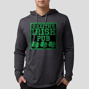 Personalized Irish Pub Mens Hooded Shirt