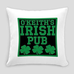 Personalized Irish Pub Everyday Pillow