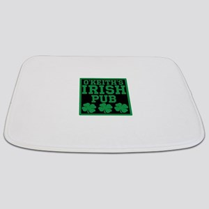 Personalized Irish Pub Bathmat
