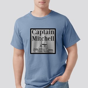 Personalized captain fishing boat Mens Comfort Col