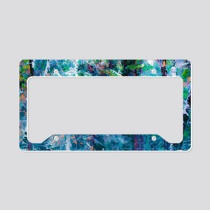 Snowy Forest License Plate Holder