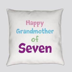 Personalized Grandmother Everyday Pillow