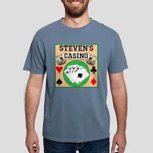 Personalized Casino Mens Comfort Colors Shirt