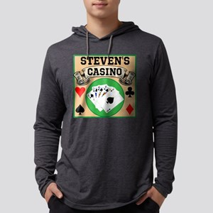 Personalized Casino Mens Hooded Shirt