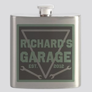 Personalized Garage Flask