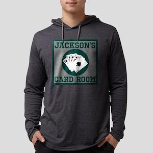 Custom Card Room Mens Hooded Shirt