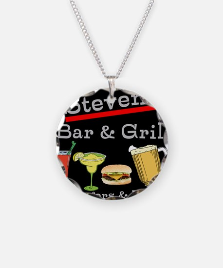 Personalized Bar and Grill Necklace