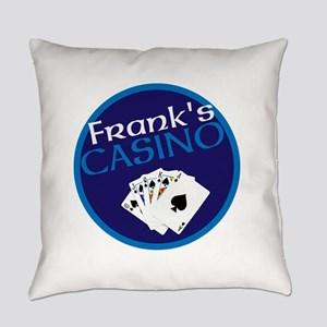 Personalized Casino Everyday Pillow